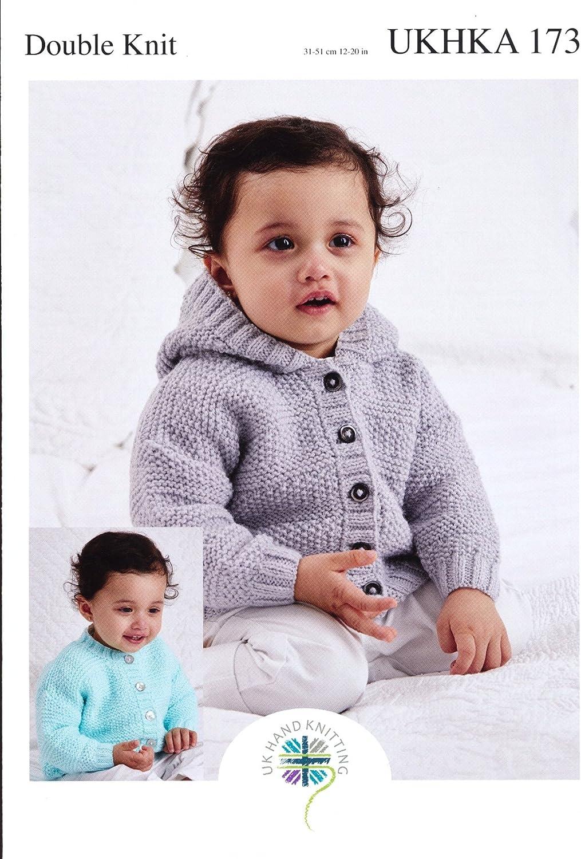 Baby Knitting Pattern DK-UKHKA 58