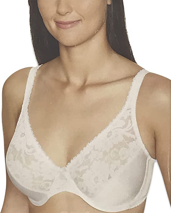 253aaf8bd69 Warner s Womens Firm Support Lace Underwire Bra (36B