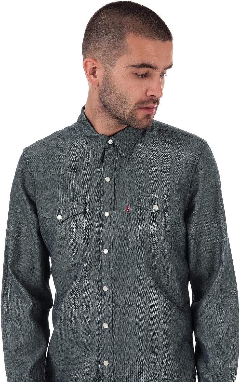 Levis Barstow - Camisa vaquera para hombre, color índigo: Amazon.es: Ropa y accesorios
