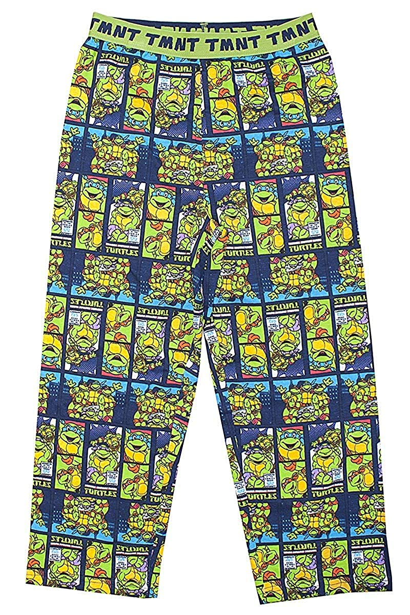 TMNT Niños Las Tortugas Ninja Pantalones de Andar por Casa ...