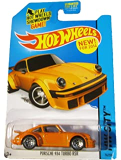 Hot Wheels 2014 HW City Porsche 934 Turbo RSR 74/250, Orange