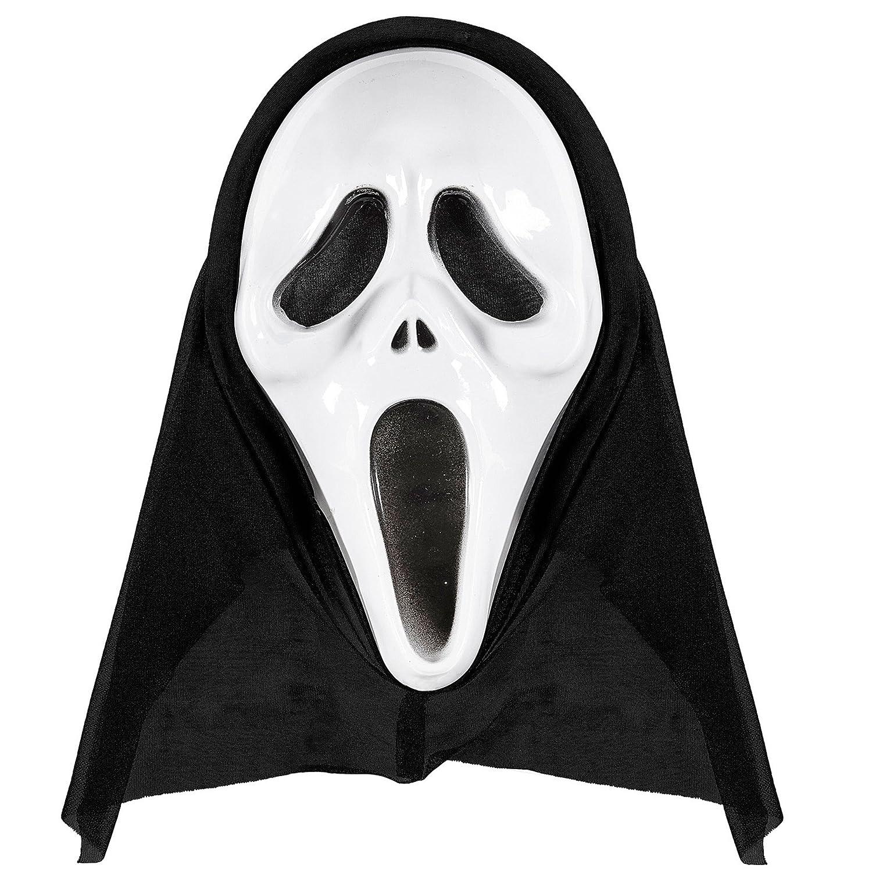 Widmann 14383 Maske mit Kapuze, One Size
