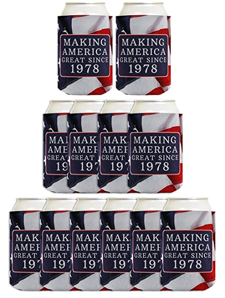 40th Birthday Gift Ideas Making America Great Since 1978 Decorations Gifts For
