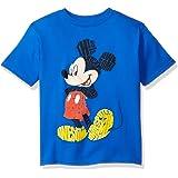 Disney- Playera manga corta de Mickey Mouse, para niño