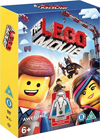 The Lego Movie Minifigure Edition Dvd 2014 Amazon Co Uk Christopher Miller Phil Lord Mark Mothersbaugh Doug Davison Roy Lee Dvd Blu Ray