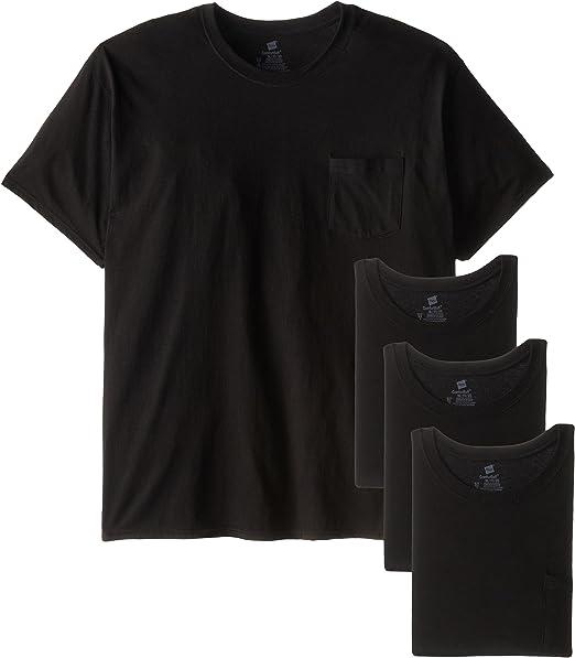 acquisto genuino nuovo aspetto tecniche moderne Hanes Men's Fresh IQ Pocket T-Shirt at Amazon Men's Clothing store