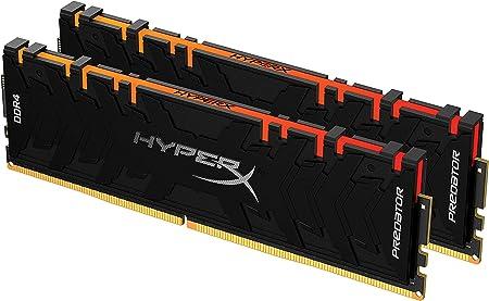 Oferta amazon: HyperX Predator HX432C16PB3AK2/64 Memoria 3200MHz DDR4 CL16 DIMM XMP 64GB Kit (2x32GB) RGB