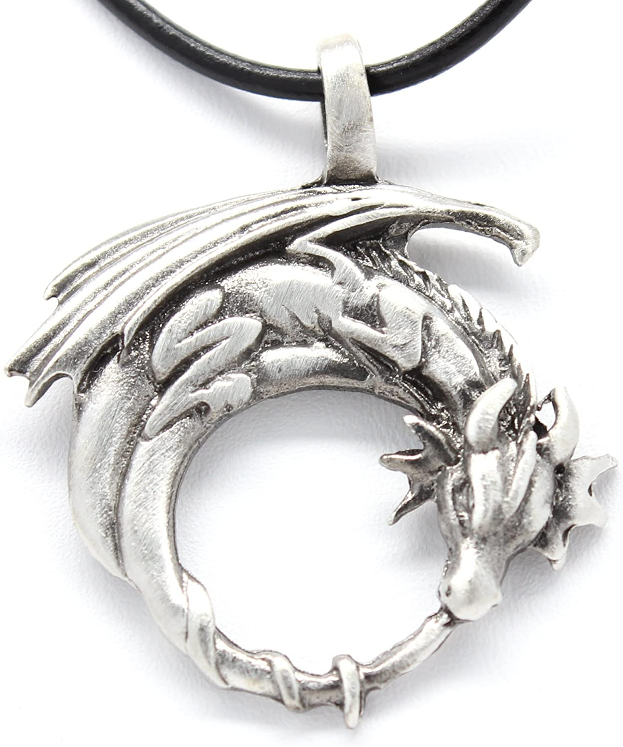 Silver Celtic Star Moon Necklace Gothic Wicca Pagan Pendant Fantasy Crescent