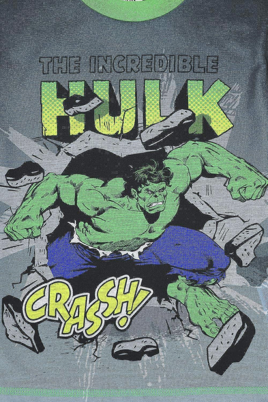 The PyjamaFactory Boys by Marvel The Incredible Hulk Crassh Pyjamas