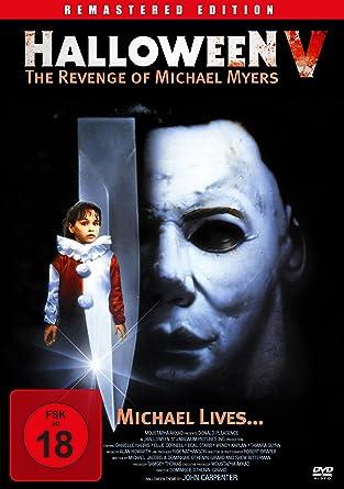 Halloween V - The Revenge Of Michael Myers Remastered Edition Edizione   Germania  Amazon.it  Donald Pleasence eacaea743332