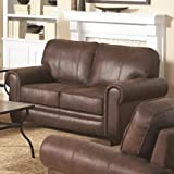 Coaster Home Furnishings 504202 Traditional Loveseat, Brown