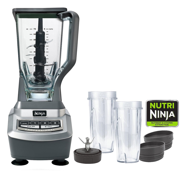 Ninja BL740C Professional Blender and Nutri Cups Black Silver