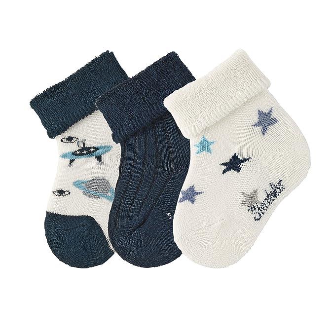 Baby Socken Söckchen uni 3er Pack