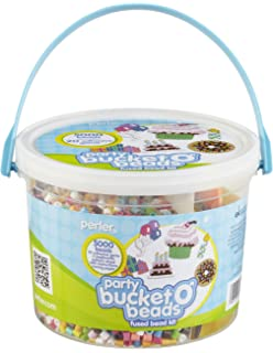 Perler Bucket O Beads Fun Fusion Fuse Bead Kit-Party