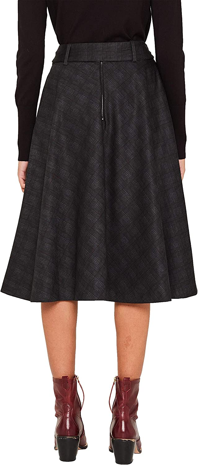 ESPRIT Women's Skirt Black (Black 001)