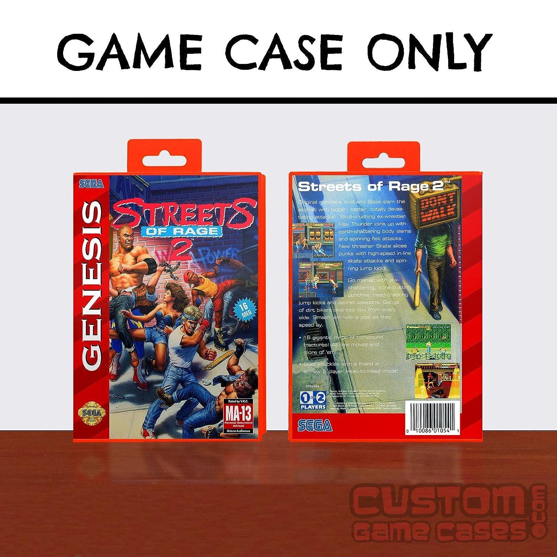 Sega Genesis Streets of Rage 2 - Case