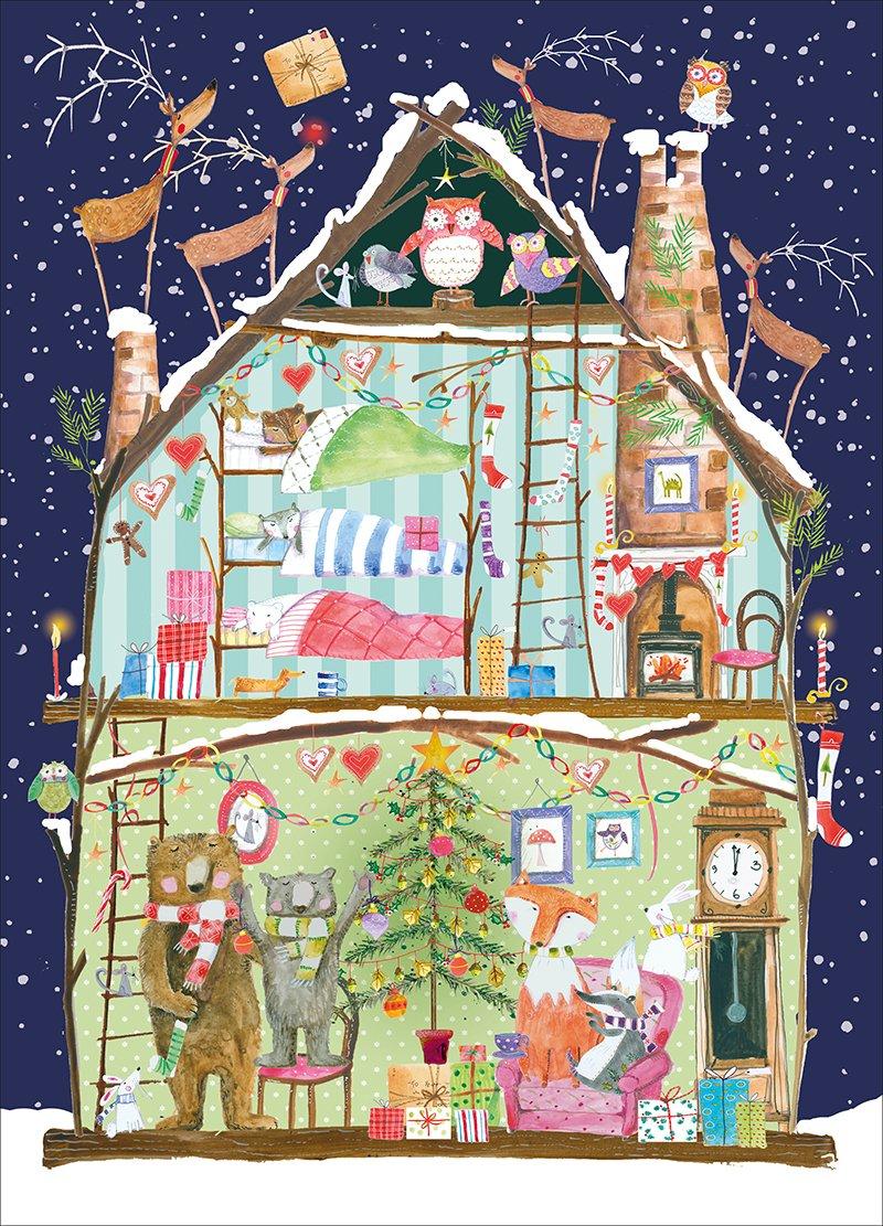 Museums /& Galleries Fairy Tree Card Advent Calendar Multicolor Real /& Exciting AC046