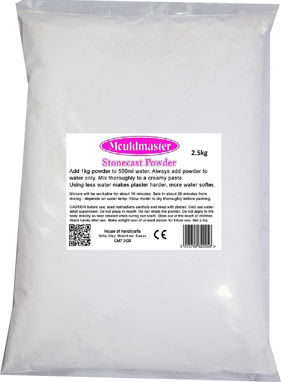 White Mouldmaster 2.5 Kg Stonecast