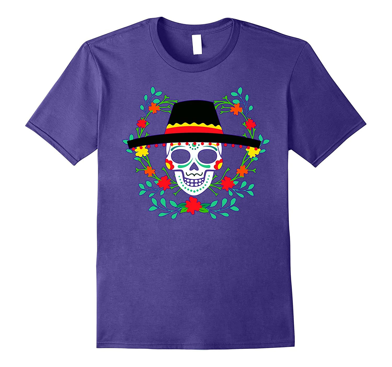 Mexican Skull Cinco De Mayo Shirt Cinco De Mayo Costume Tee-TD