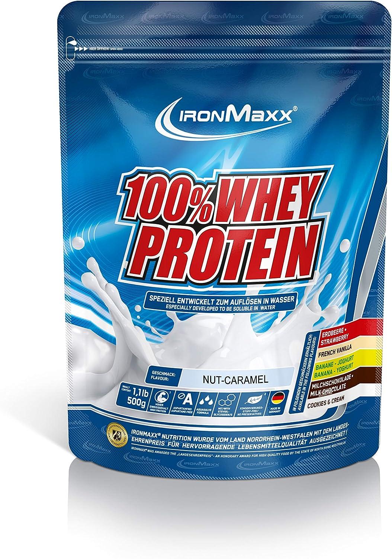 IronMaxx Ironmaxx Sabor Nueces-Caramelo 100% Polvo ...