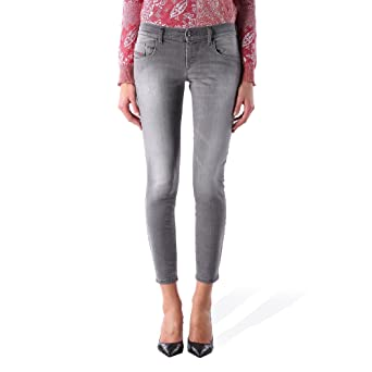 Diesel Damen Jeans Hose Skinny Grupee-Ancle Super Slim 0672J