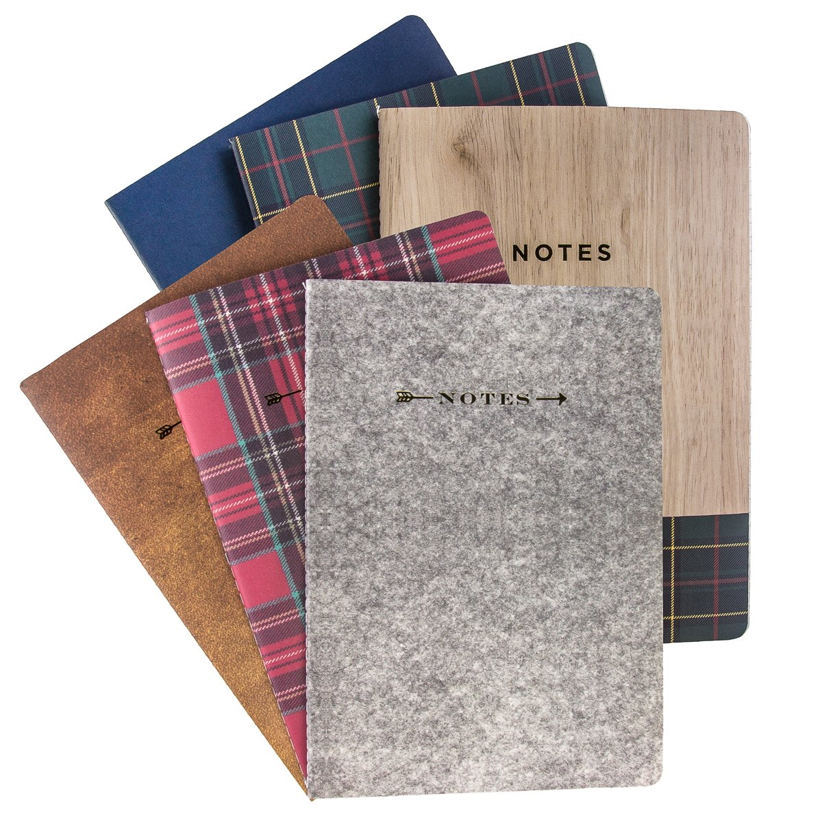 "George Stanley (6 Pack) Notebooks and Journals, Journals To Write In 10 x 7"" Notebook Soft Cover Ruled 120 Lined Pages Bulk"