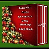 Meredith Potts Christmas Cozy Mystery Boxed Set