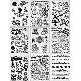 WY-ALGUIEN 4 unids//set Fairy Silicone Clear Seal Stamp DIY Scrapbooking en relieve /álbum de fotos