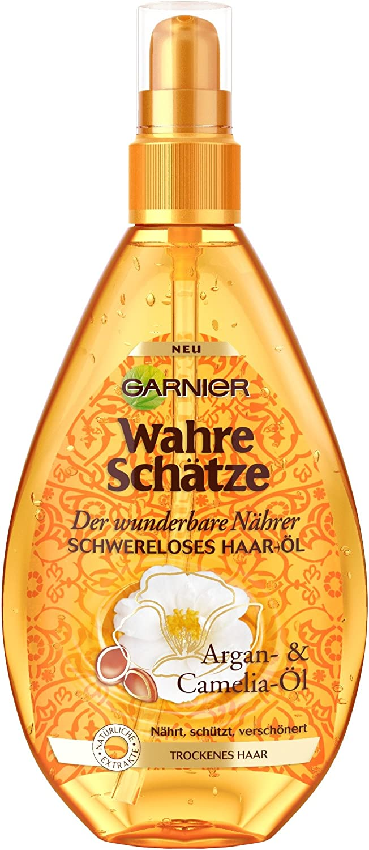 Garnier Original Remedies Atesora aceite en el cabello de Argán y Camelia Aceite, Pack de 1 x 150 ml