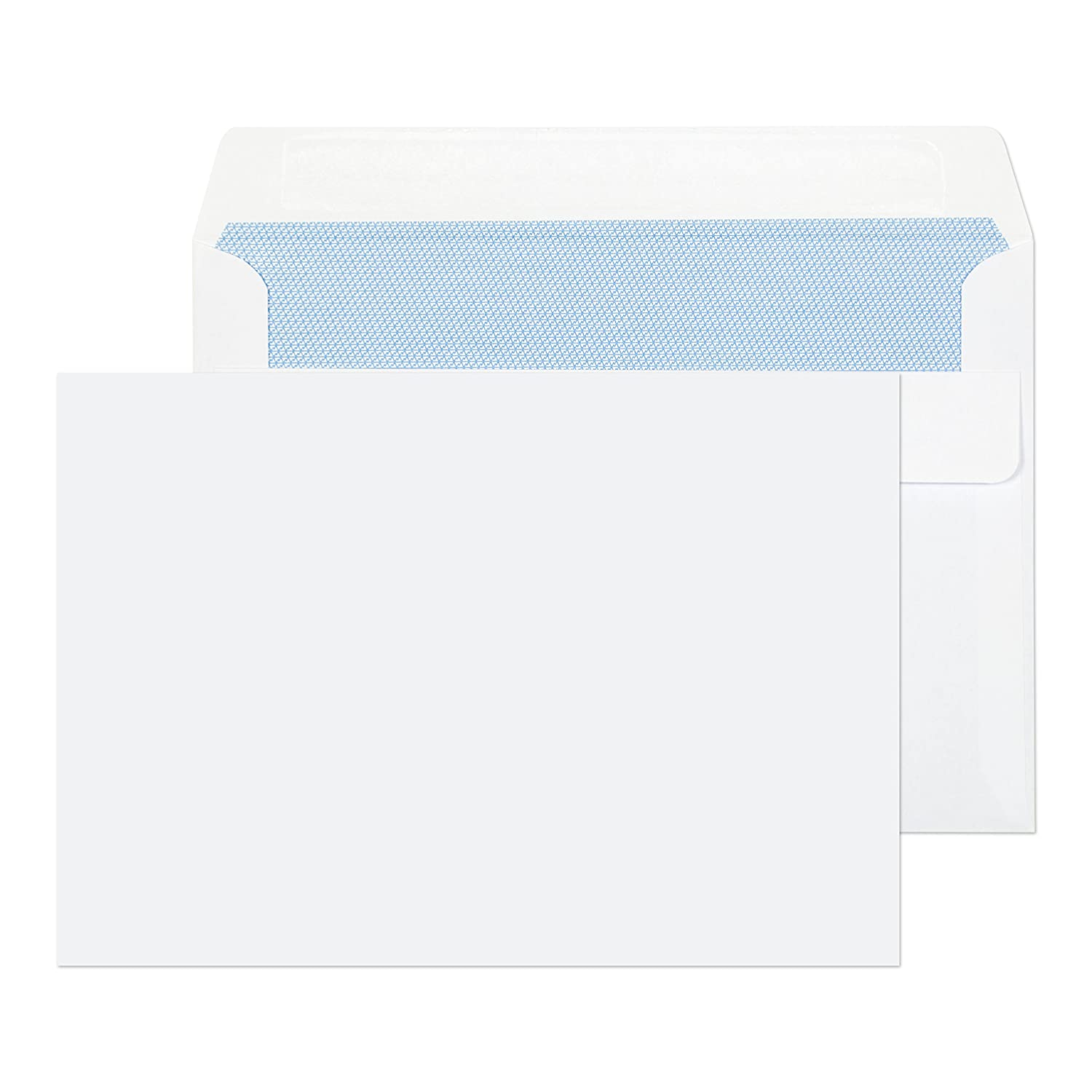 C5 Cellophane Bags Peel and Seal by Cranberry Pack of 500