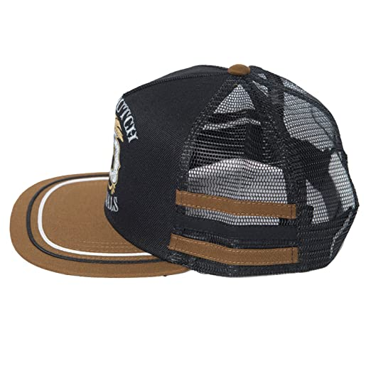 70721ae1 Von Dutch Men's VD Leaf Trucker Hat-One Size Black/Brown at Amazon Men's  Clothing store: