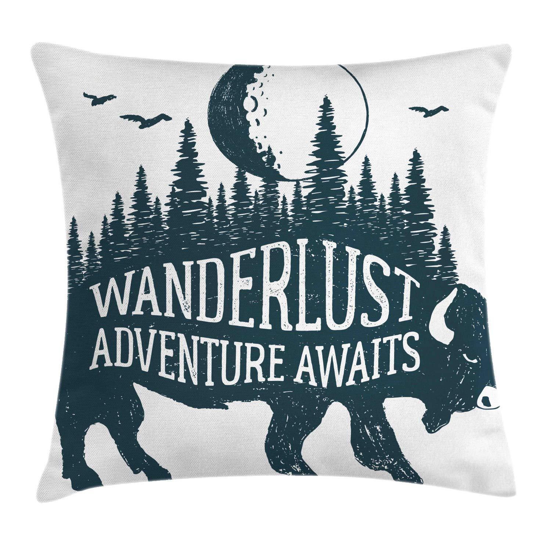 Amazon.com: Aventura Throw almohada cojín cubierta por ...