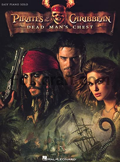 Pirates Of The Caribbean: Dead Mans Chest (Easy Piano ...