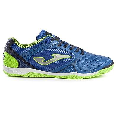 8789ba5c2 Joma Men's Dribling ID Indoor Soccer Shoes (6.5 M US, Royal/Fluoro Yellow
