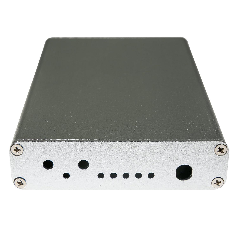 Silver Nooelec Bo/îtier en Aluminium extrud/é kit pour Hackrf Un par Excellent Scott Gadgets Argent