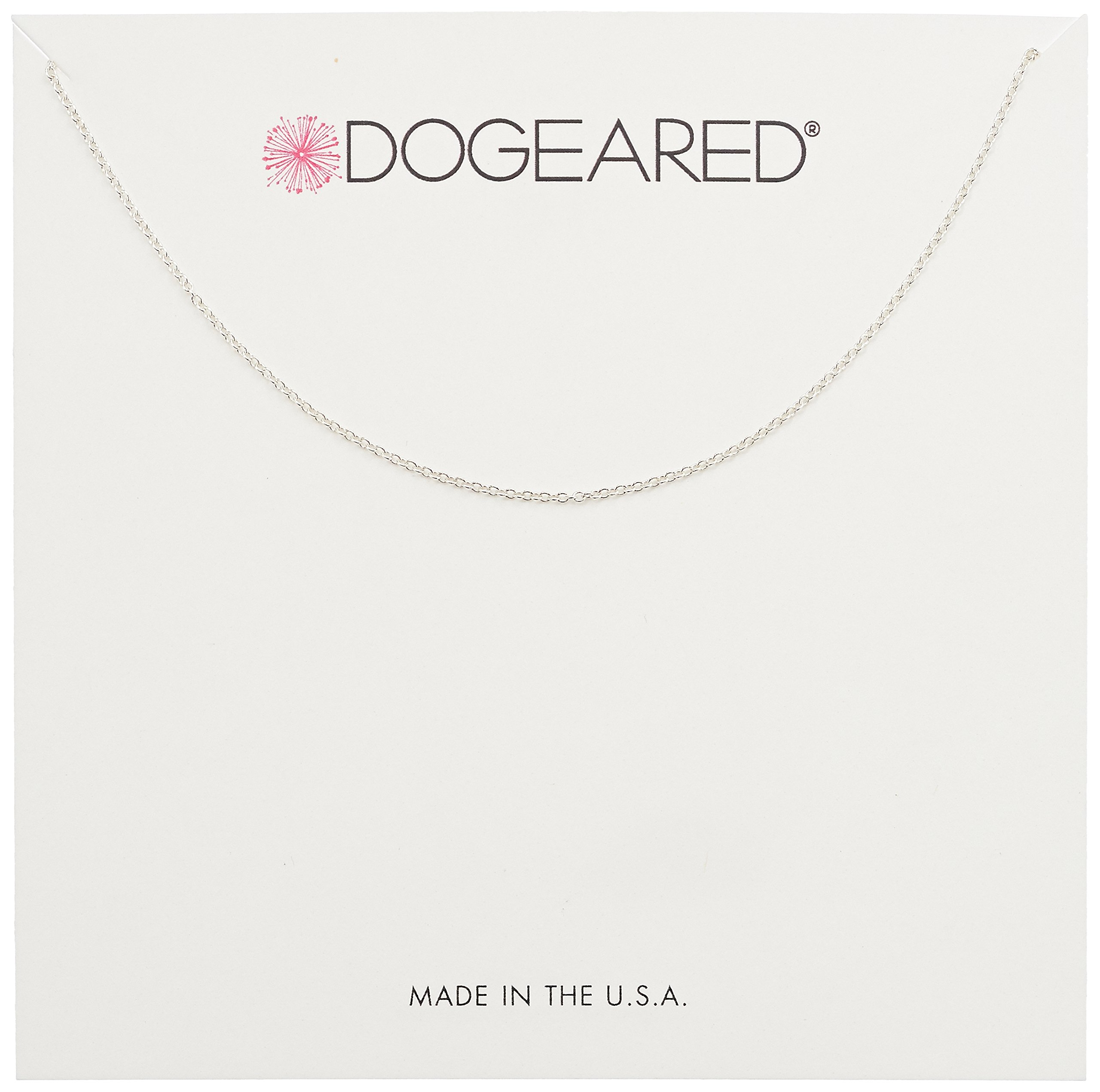 Dogeared Superfine Replacement Chain, 16'' + 2'' Extension, 0.925 Sterling Silver by Dogeared (Image #1)