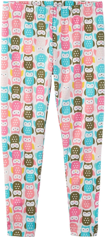 Carter's Girls' 2T-6 Multi Mini Owl Leggings Carter' s 278G722