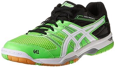 72edaf5bd ASICS Men's Gel Rocket-7 Shoes Size: 5 UK: Amazon.co.uk: Shoes & Bags
