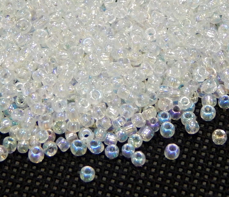 Rocailles Perlen 2mm 11//0 Pink Silbereinzug 450g Glasperlen Schmuck A44