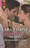 The Lord's Inconvenient Vow (The Sinful Sinclairs Book 3)