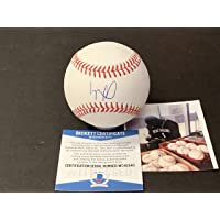 $124 » Luis Robert Chicago White Sox Autographed Signed Official Major League Baseball BECKETT…