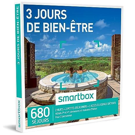 Idee Cadeau 1 An De Couple.Smartbox Coffret Cadeau Homme Femme Couple 3 Jours De Bien Etre Idee Cadeau 680 Sejours 2 Nuits 2 Petits Dejeuners 1 Acces A L Espace