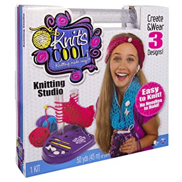 Spin Master 6025044 - Knits Cool - Knitting Studio: Amazon.de: Spielzeug