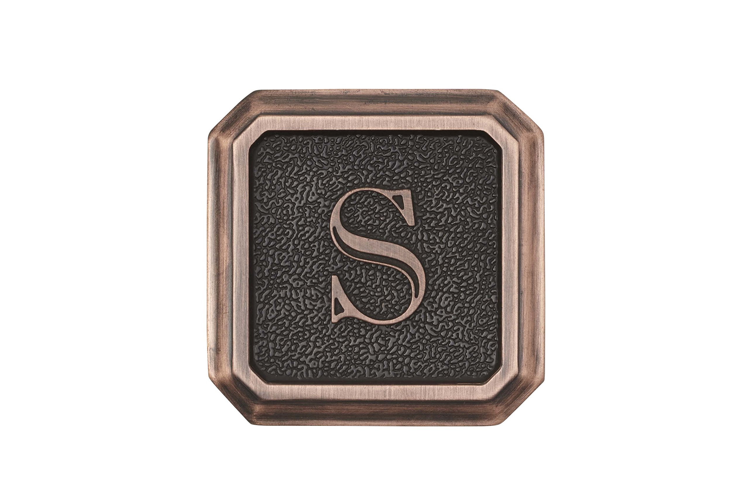 Architectural Mailboxes 3650ORB-S Aluminum Oil Rubbed Bronze Monogram - Letter''S'' by ARCHITECTURAL MAILBOXES