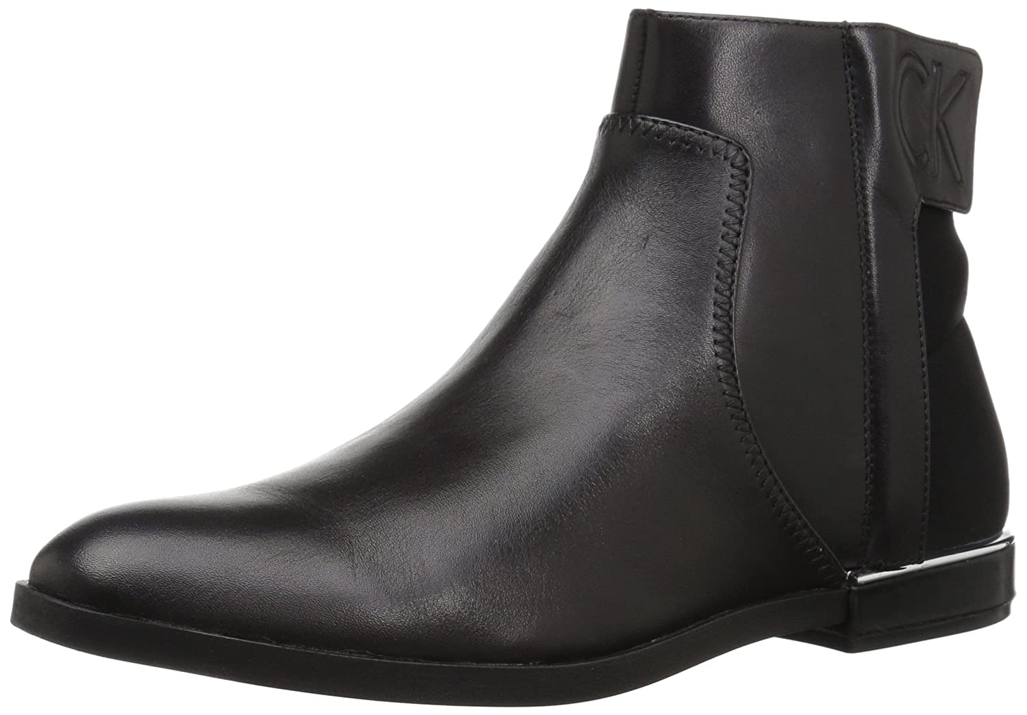 Calvin Klein Women's Prisca Ankle Boot B073GY6H55 6 M US|Black
