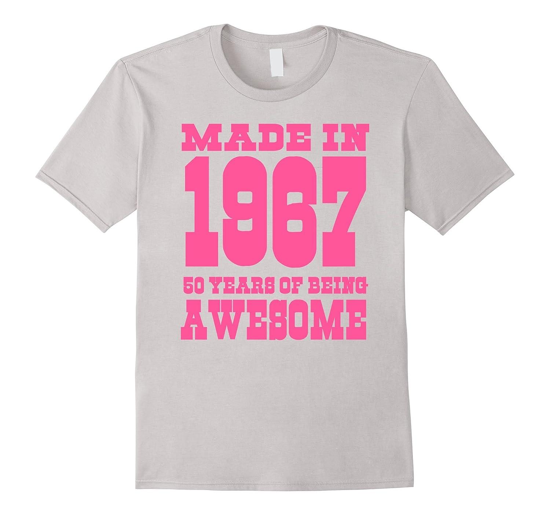 50th Birthday Gift Idea 50 Year Old Boy Girl Shirt 1967 TH