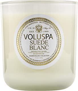 product image for Voluspa Suede Blanc Classic Maison Candle, 100 Hour 12 oz