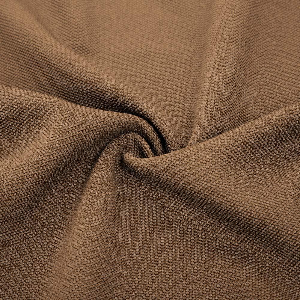 Curlbiuty Damen Mantel Vintage Stehkragen Langarm Cropped Military Light Jacket Buttons Decorated Coat Blazer