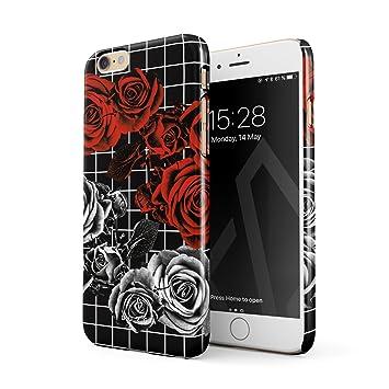 coque iphone 6 fleur rouge