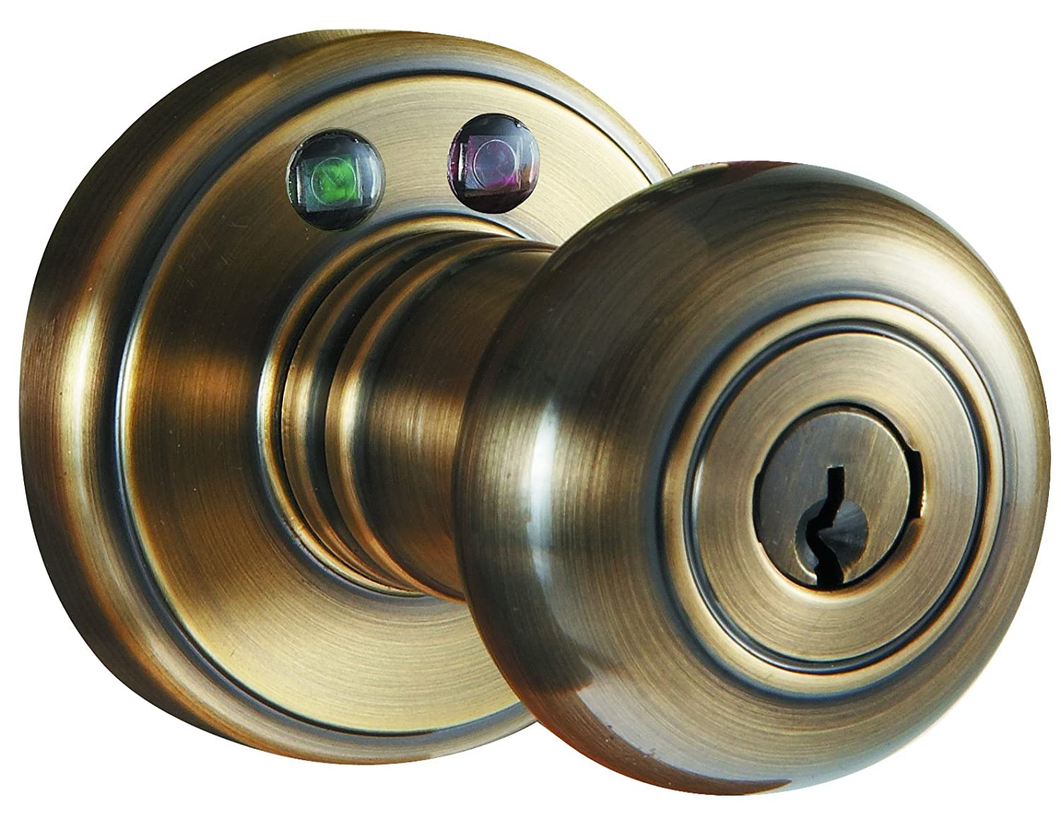 Morning Industry RKK-01P Radio Frequency Remote Door Knob, Polished ...